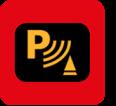 Parkeersensoren aan