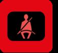 Passagier zonder gordel